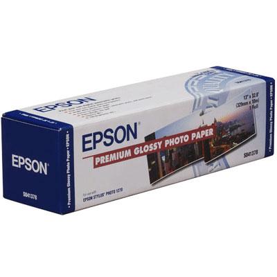 Epson Premium Glossy Photo Paper 16.5, 419мм х 30.5м (166 г/м2) (C13S042076)