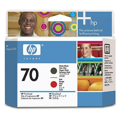 ���������� ������� HP Print Head �70 Matte Black & Red (Z3100) (C9409A)