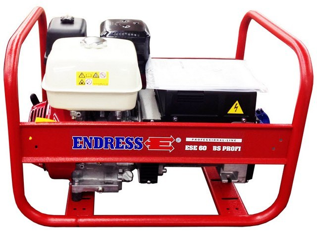 Бензиновый генератор_Endress ESE 606 HS от FOROFFICE