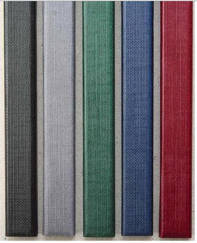 Цветные каналы с покрытием «ткань» O.CHANNEL SLIM А4 304 мм 13 мм, черный