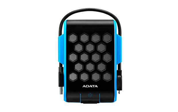 Внешний жесткий диск ADATA HD720 2 ТБ (AHD720-2TU3-CBL), прорезиненный, синий