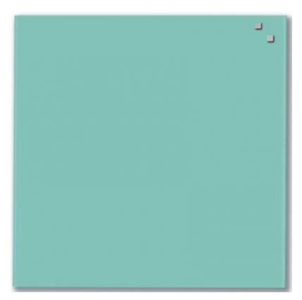 Стеклянная доска_Naga 45x45 Turquoise (10762) Компания ForOffice 1884.000