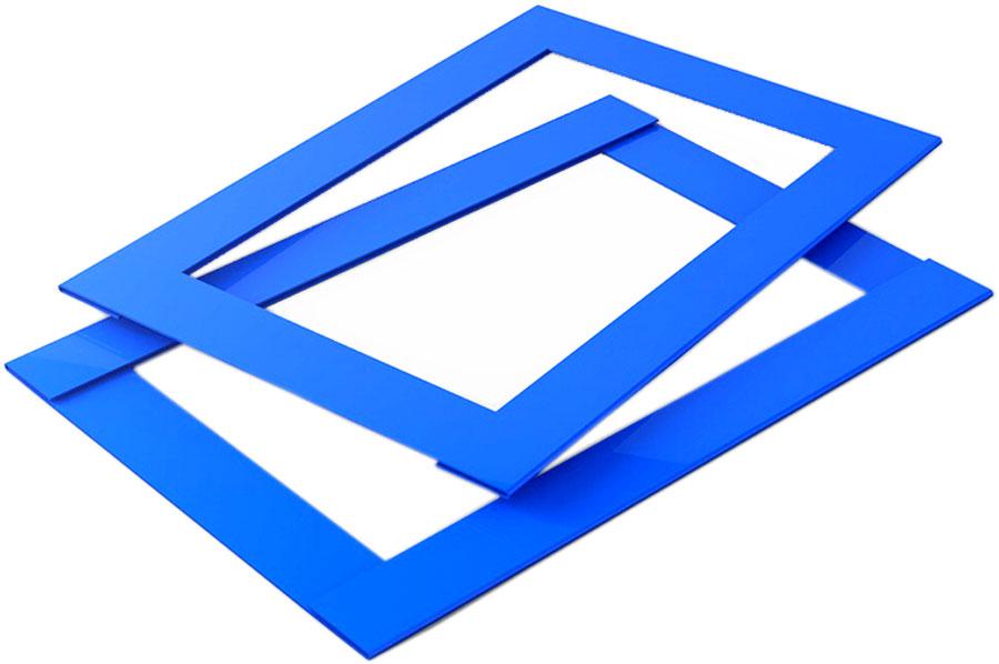 Календарные курсоры 1-ый размер, 100 шт, синие