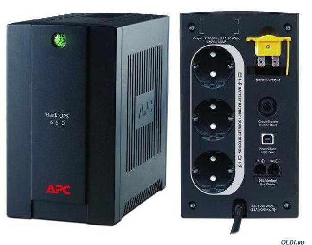 Источник БП_APC Back-UPS 650VA/390W (BX650CI)