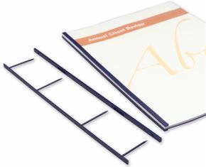 Гребенки Velobind 4-штырьковые белые Компания ForOffice 1090.000