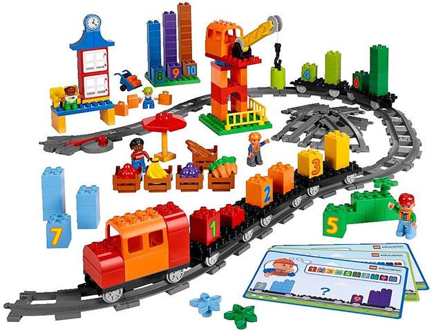 Математический поезд Lego Duplo