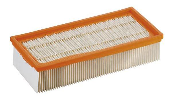 Плоский складчатый фильтр для пылесосов Karcher NT 65/2, NT 72/2