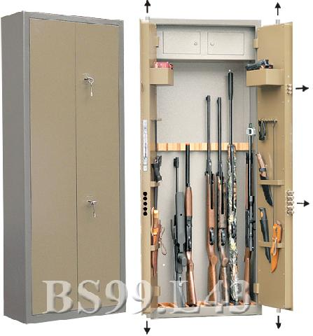 Оружейный сейф Gunsafe BS99 L43
