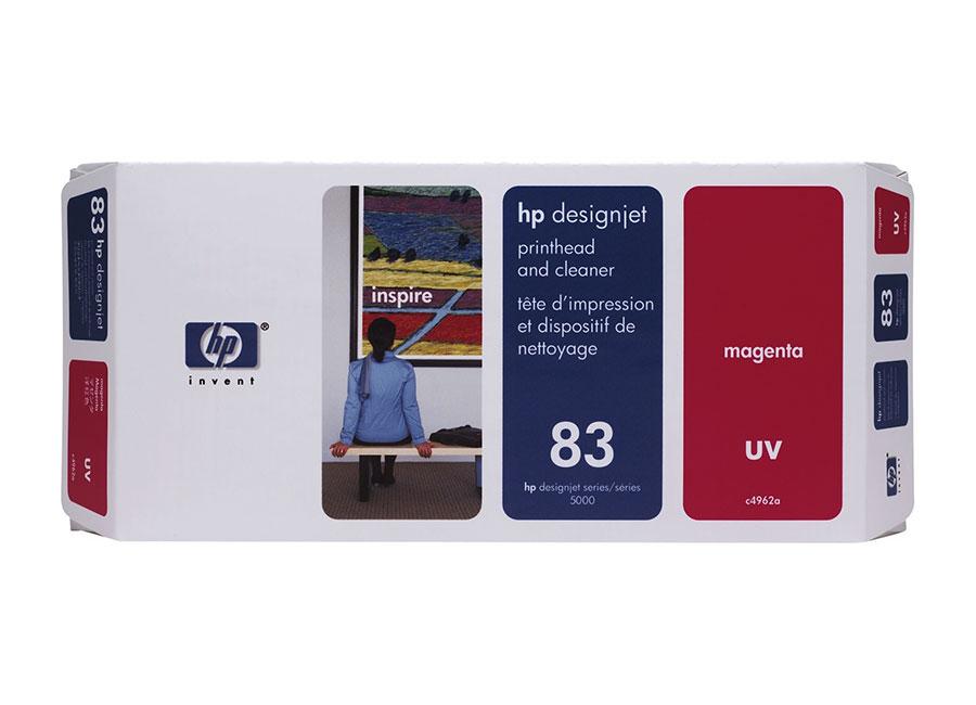 Печатающая головка и чистящая станция HP №83 Magenta (C4962A) hot sales 80 printhead for hp80 print head hp for designjet 1000 1000plus 1050 1055 printer