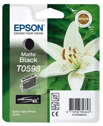 Картридж с черными матовыми чернилами   T0598 (C13T05984010)