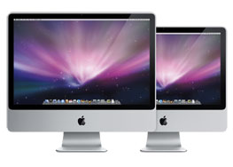 "Apple iMac 24"" Core 2 Duo 2.66GHz/4GB/640GB/GeForce 9400M/SD MB418RS/A"