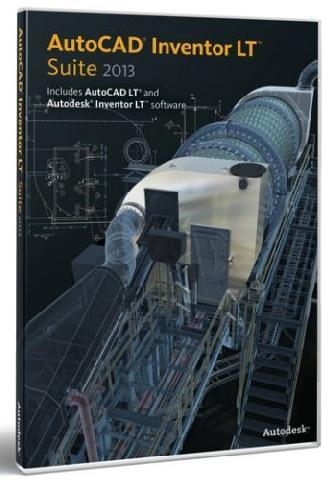 AutoCAD Inventor LT Suite 2013 Commercial New SLM 5 pack DVD RU Компания ForOffice 272719.000