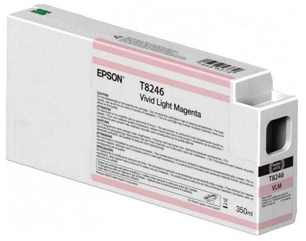 Картридж с насыщенными светло-пурпурными чернилами T8246 (C13T824600) картридж epson c13t850600 для epson surecolor sc p800 светло пурпурный