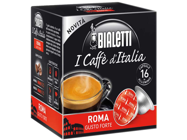 Капсулы Bialetti ROMA Компания ForOffice 490.000
