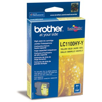 Картридж Brother LC1100HYY