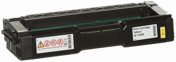 Print Cartridge желтый SP C340E комплект сменных картриджей барьер expert ferrum