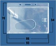 Кармашки для беджей и пластиковых карт PL01H Компания ForOffice 2452.000