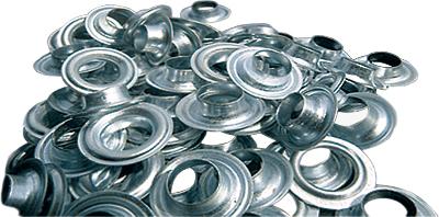 Люверсы / Колечки Vektor 10 мм, 500 шт