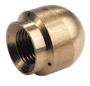 Сопло Karcher для промывки труб (отверстия: 1 вперед, 3 назад)