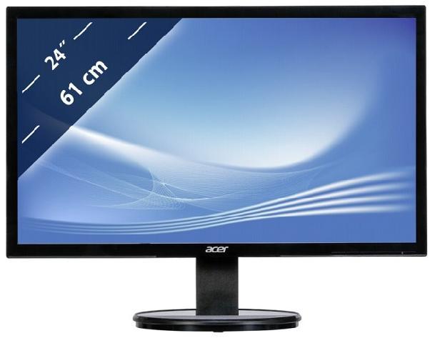 24 Acer K242HLbid black (UM.FX3EE.003) acer k242hlbid black монитор