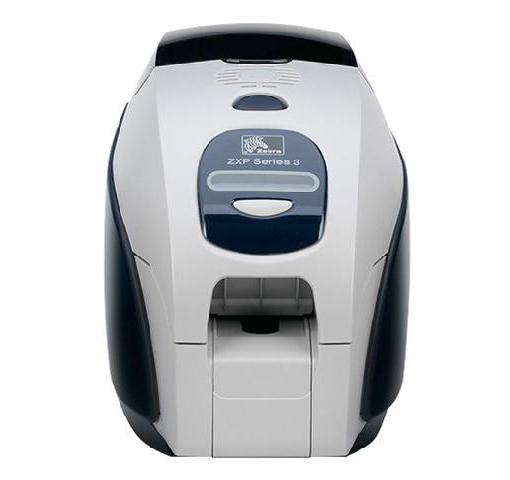 Принтер для пластиковых карт Zebra ZXP Series 3 DS с кодировщиком контактных смарт-карт и карт Mifare