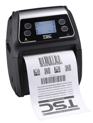 Принтер этикеток_TSC Alpha-4L, BT+ LCD