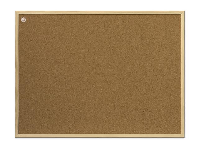 Пробковая доска_2x3 Ecoline 60x40 (TC64/C) с деревянной рамкой Компания ForOffice 350.000