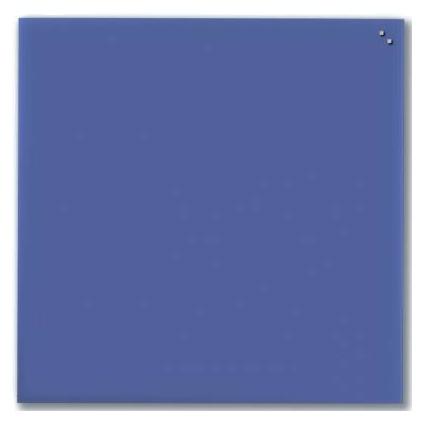 Стеклянная доска_Naga 100x100 Blue (10160) Компания ForOffice 8074.000