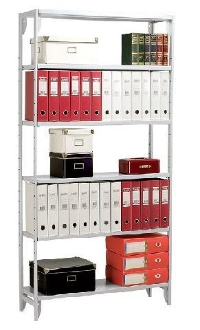 Металлический стеллаж_Практик SB 220/100x40/6M серый Компания ForOffice 3320.000