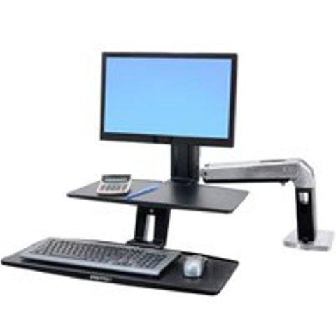 Крепление_Ergotron WorkFit-A для монитора и клавиатуры (24-390-026) Компания ForOffice 31650.000