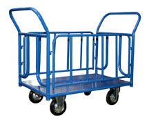 КПО-500 Т (до 550 кг) платформенная 4 х колесная тележка стелла кпо 300 т 125 к