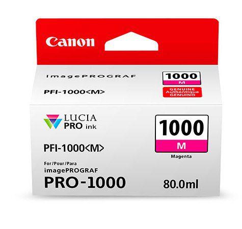 Картридж Canon PFI-1000 M (пурпурный)