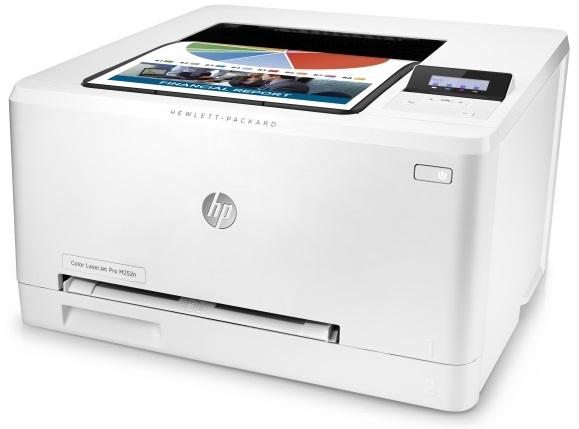 Принтер_HP Color LaserJet Pro M252n (B4A21A)