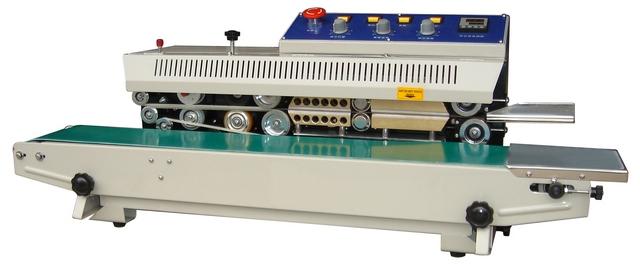 Роликовый запайщик с датой HL FRM-810I (нерж.)