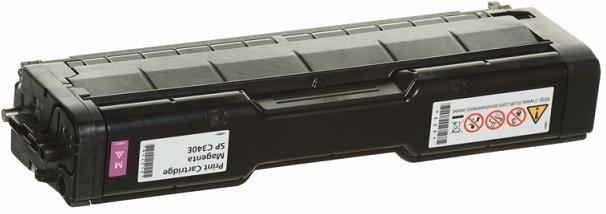 Print Cartridge малиновый SP C340E cs rsp3300 toner laser cartridge for ricoh aficio sp3300d sp 3300d 3300 406212 bk 5k pages free shipping by fedex