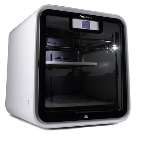 CubePro Trio qidi tech single extruder 3d printer new model x one2 fully metal structure 3 5 inch touchscreen