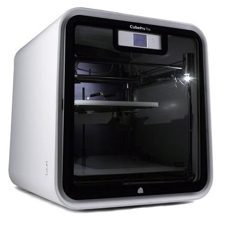 3D принтер_3D Systems CubePro Trio