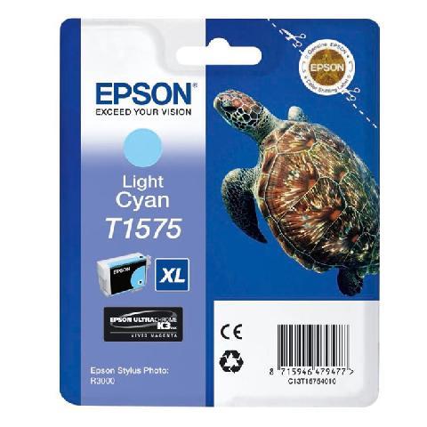 Картридж со светло-голубыми чернилами T1575 (C13T15754010) epson t1575