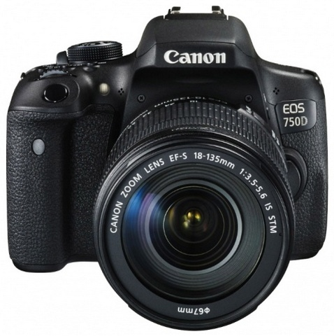 Canon EOS 750D Kit 18-135 IS STM canon eos 750d kit 18 135mm is stm