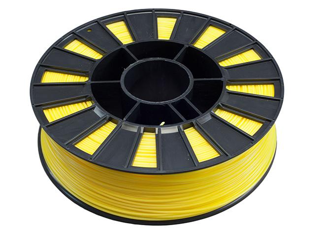 Пластик ABS желтый 250гр от FOROFFICE