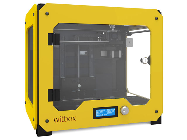 3D принтер_bq Witbox желтый