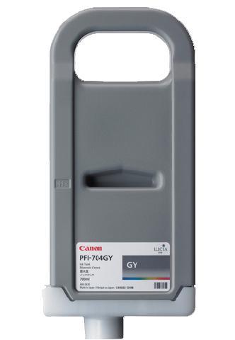 цена на Картридж (PFI-704GY) Grey