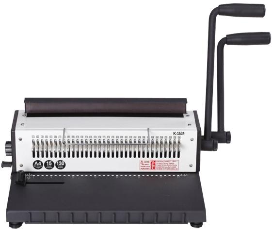 Купить Переплетчик на металлическую пружину Grafalex K-1534R в официальном интернет-магазине оргтехники, банковского и полиграфического оборудования. Выгодные цены на широкий ассортимент оргтехники, банковского оборудования и полиграфического оборудования. Быстрая доставка по всей стране