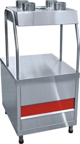 Прилавок для столовых приборов Аста ПСП-70КМ