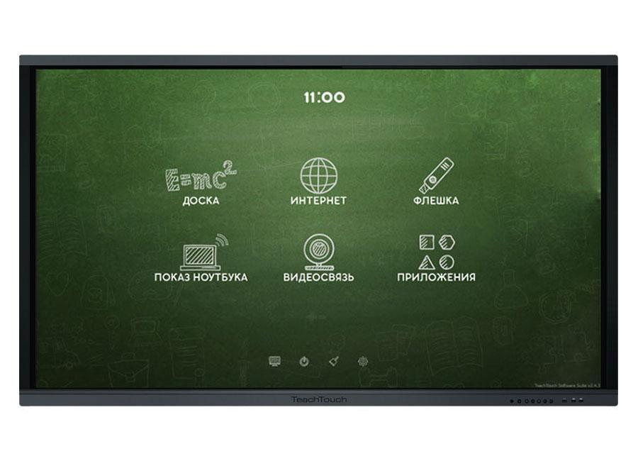 Купить Интерактивная панель TeachTouch 3.0 75, UHD, PolyMedia