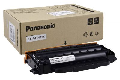 Тонер KX-FAT431A телефон ip panasonic kx nt553rub черный