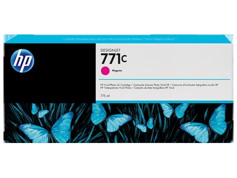 Картридж HP №771C Designjet Magenta (B6Y09A) картридж для принтера nv print для hp cf403x magenta