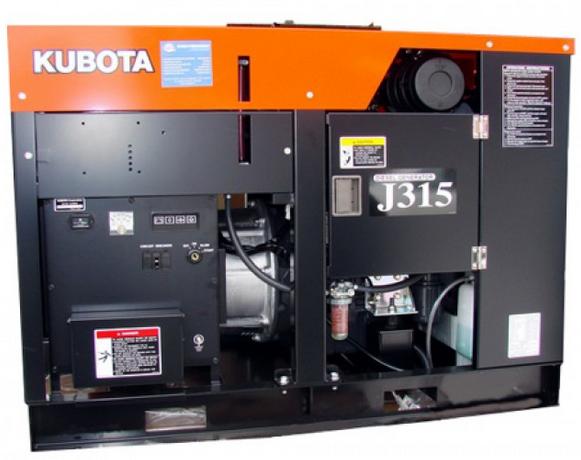 Дизельный генератор Kubota J315