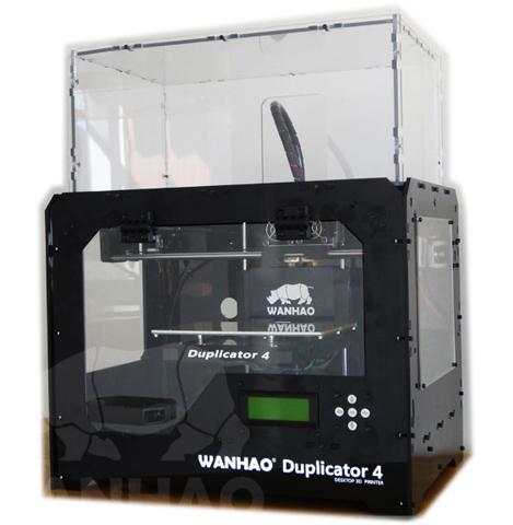 3D принтер_WANHAO Duplicator 4X BLACK SH Компания ForOffice 52000.000