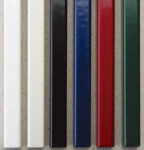 Металлические каналы O.Simple Channel 304 мм 16 мм, красные